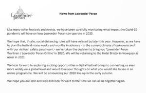 News From Lowender Peran